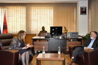 Auditori i Pergjithshem ne vizite te Ministrja e MASHTI
