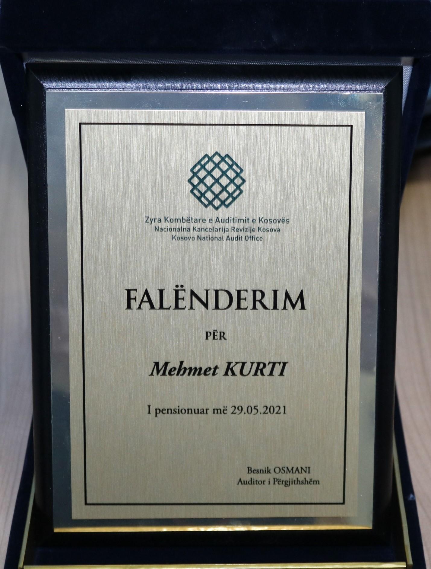 Pensionimi Mehmet Kurti